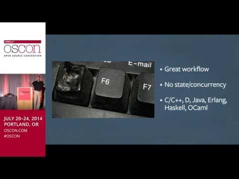 OSCON 2014: Move Fast and Ship Things; Andrei Alexandrescu