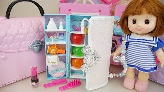Baby doll bag closet surprise toys baby Doli play