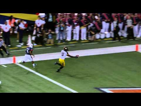 HIGHLIGHT:  DGB 38 yard Touchdown vs Auburn