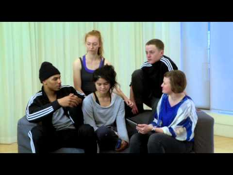 Q&A with first year undergraduate dance students