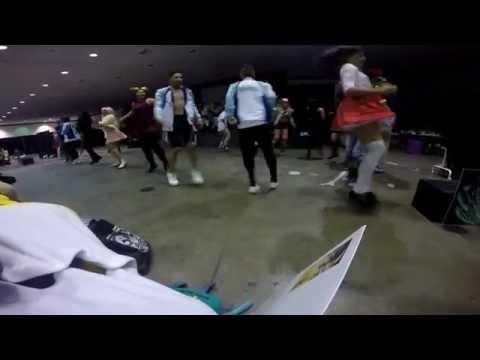 Anime Expo 2015- Survey Corps Dance Crew: Beyond the Northern Wall