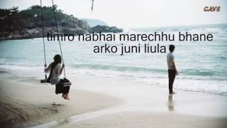 Sagar Sari Chokho Maya     Karaoke with lyrics     Silsila     Best Quality