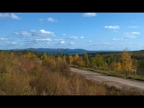 2019-09-27 Bratsk City Center, Energetik, Gidrostroitel, + 5°C, Siberia, Russia