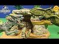 New Jurassic World Hybrid Armor Indominus Rex VS  T-Rex Hybrid Unboxing Review