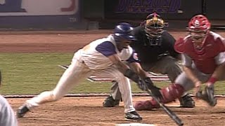 2001NLDS Gm5: Womack misses bunt, Cards foil squeeze