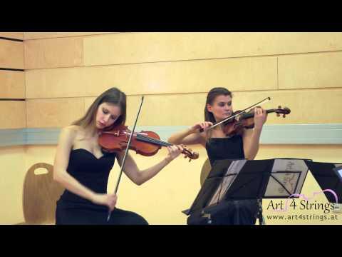 Art 4 Strings: C. Gardel: Por una Cabeza - Art4Strings live in HD