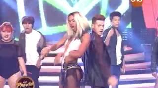 ¡Anisia Dos Reis y Arlhinson Samaniego bailan K-pop! #LaPreviaDeBailando