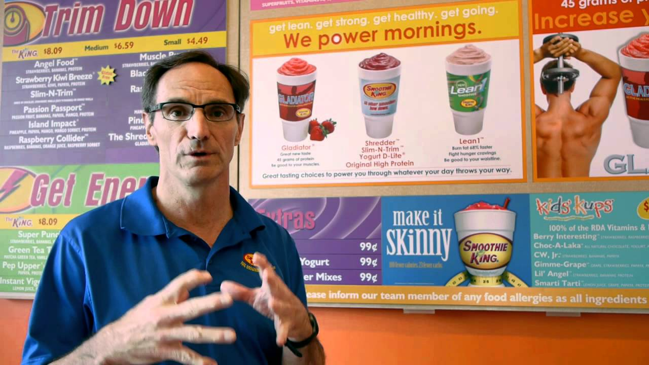 A Nutritional Guide From Fitness Together Smoothie King And Eating Healthy Video Youtube