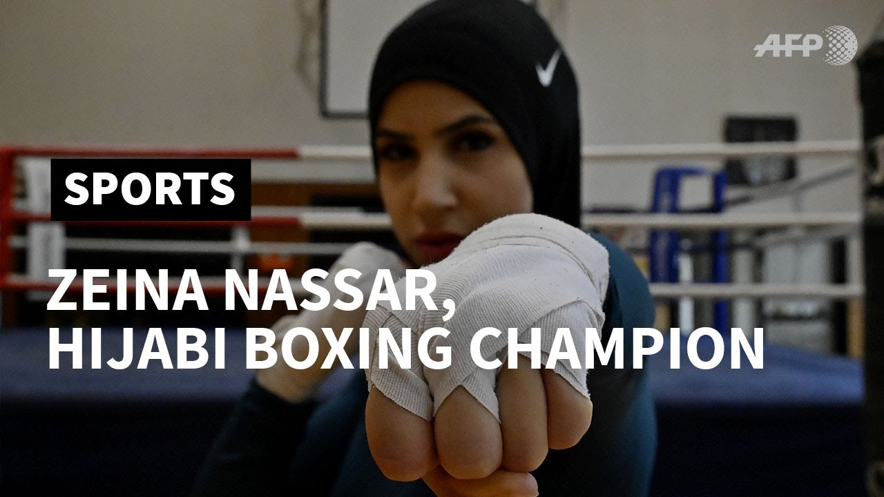 [VIDEO] - PROFILE - German woman boxer fights to wear headscarf in the ring | AFP 1