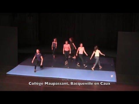Festival académique UNSS des Arts du Cirque 2016 / Cirque-Théâtre d'Elbeuf