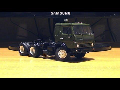 Сборка модели КАМАЗ 54112 AVD Models