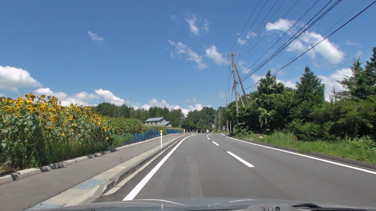 長野県道20号 開田三岳福島線 車...