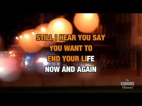 Never Too Late : Three Days Grace | Karaoke With Lyrics