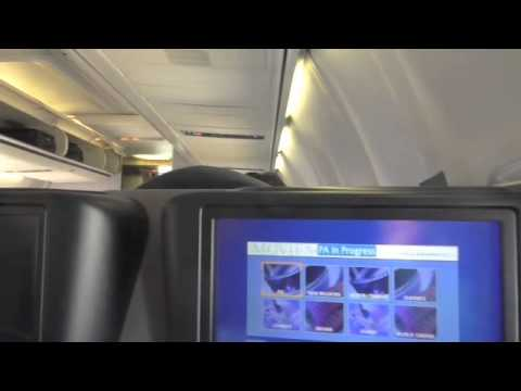 Economy Class to Oslo and Business Class from Oslo on United Airlines Boeing 757-200