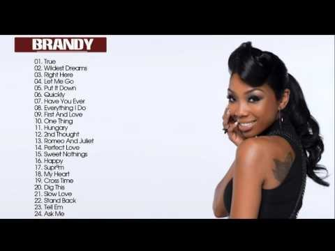 Brandy  Greatest Hits | Best Songs Of Brandy