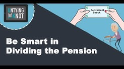 Pension: Dividing The Pension
