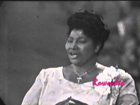 Mahalia Jackson: 5 Things To Know About The Gospel Legend At ...