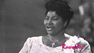 "Mahalia Jackson sings ""I Will Trust In The Lord"""