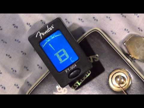 Fender FT-004 Tuner- Detailed Tutorial for Beginners