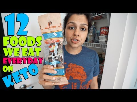 12-keto-foods-we-eat-everyday