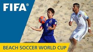 HIGHLIGHTS: Italy v. Japan - FIFA Beach Soccer World Cup 2015