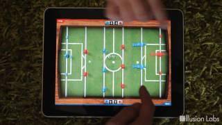 Мультитач настольный футбол IPad(, 2010-07-28T22:54:23.000Z)