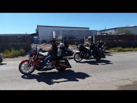 El Paso 2015 motorcycle run