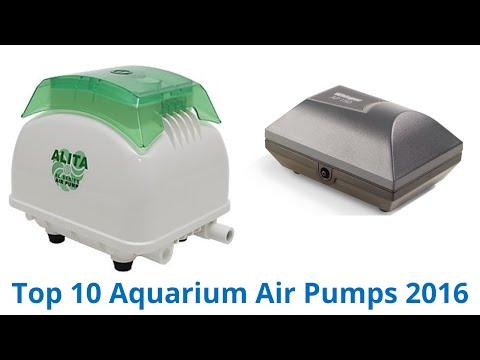 10 Best Aquarium Air Pumps 2016