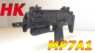 Umarex / HK MP7A1 u0,5J - Softair Review, Deutsch, HD