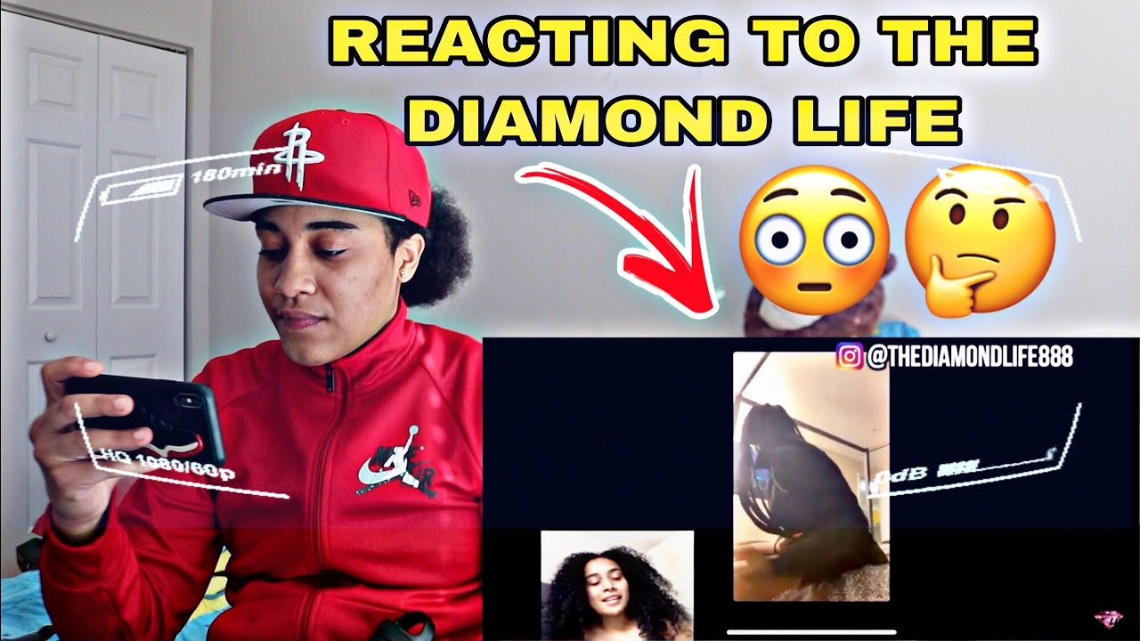 Download REACTING TO THE DIAMOND LIFE REACT TO ME AND NAY LIVE
