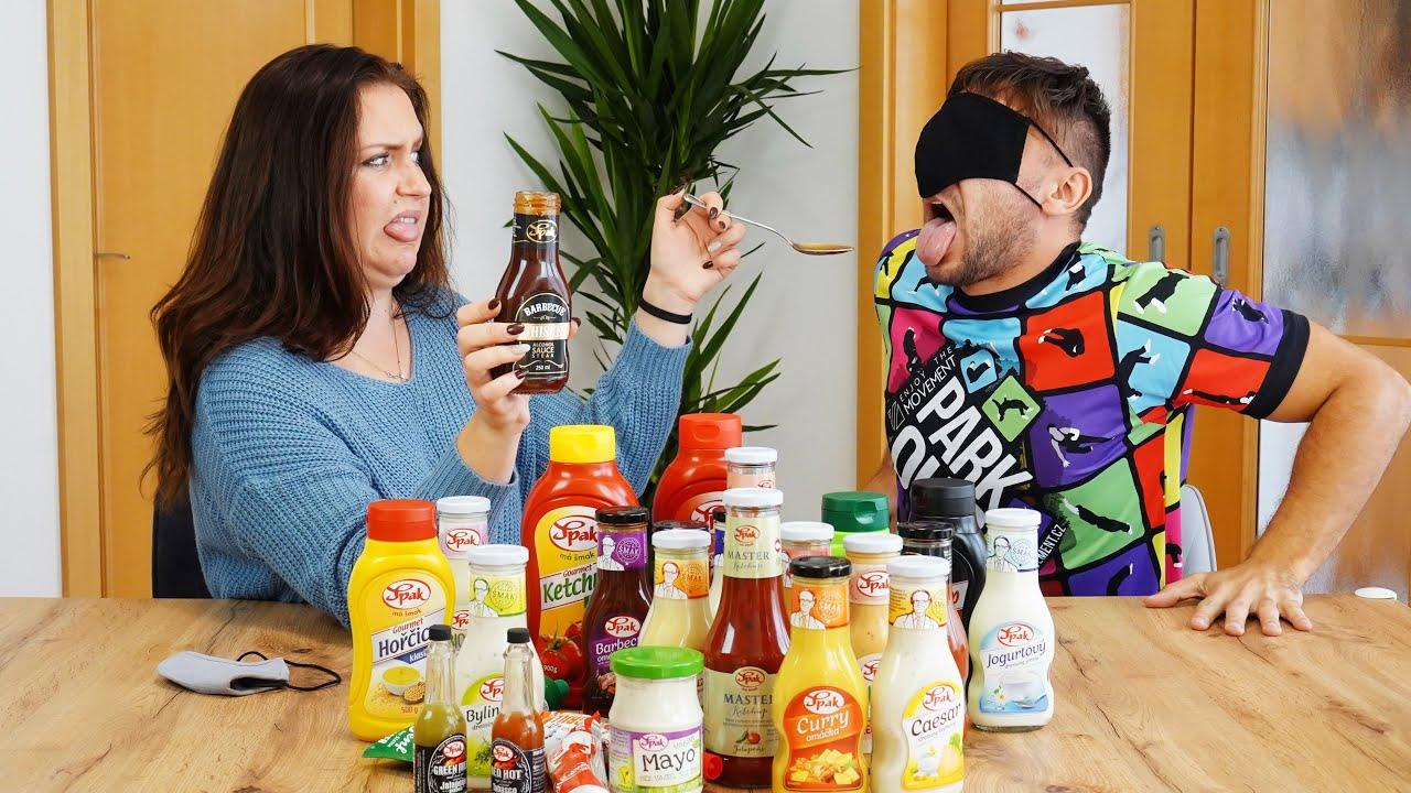 Kterou omáčku mám v puse? | Spak Ochutnávací Challenge w/Stáňa