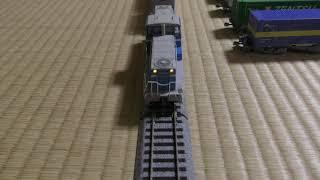 【鉄道模型】HOゲージ KD55-105号機 UT17C搭載コキ200牽引