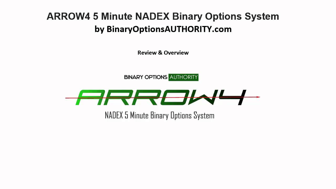 Binary options 5 minute system