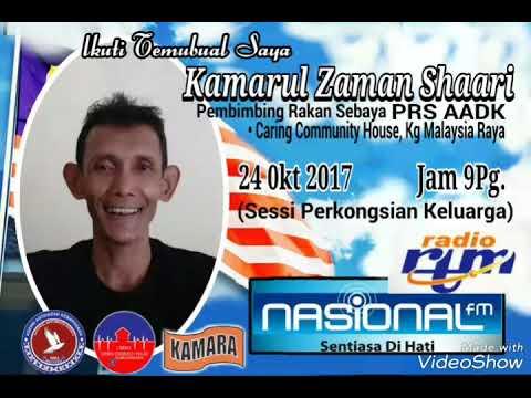 Temubual PRS Kamarul dgn Radio Nasional
