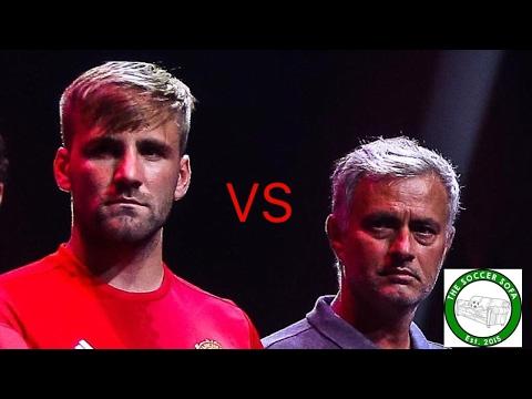 ITS WAR! Jose Mourinho vs Luke Shaw | Podcast