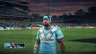 Rugby League Live 3 PC - Sharks v Panthers BaP '17 Jerseys