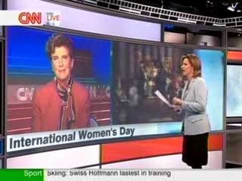 Marie Wilson on CNN's Your World Today - Women and the Presi