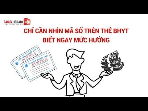 Ký Hiệu Trên Thẻ Bảo Hiểm Y Tế Giúp Nhận Biết Mức Hưởng | LuatVietnam