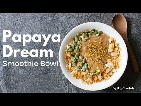 Papaya Dream Smoothie Bowl