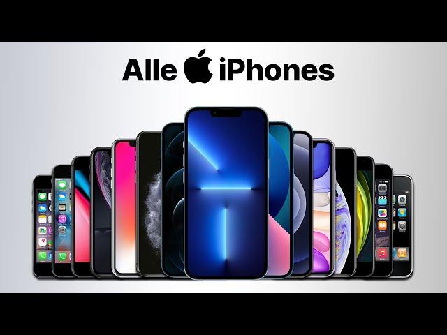 Alle iPhone Modelle / Generationen im Vergleich bis iPhone 13 Mini & Pro Max [2021]
