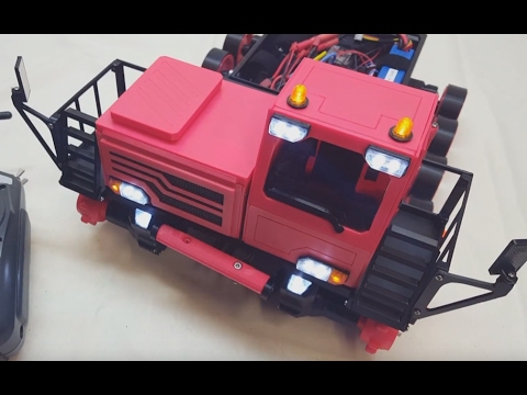 3D Printed Spyker KAT Tracked Vehicle - Cab (BUILD SERIES)