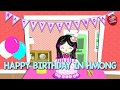 Hmong Channel Happy Birthday In Hmong On Hmong Kids Channel