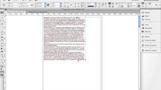 Indesign - Acerca de las Cajas de texto