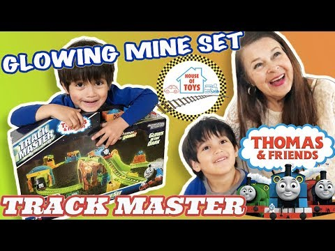 UNBOXING | Fisher-Price Thomas & Friends Glowing Mine Set Track Master With Grandma