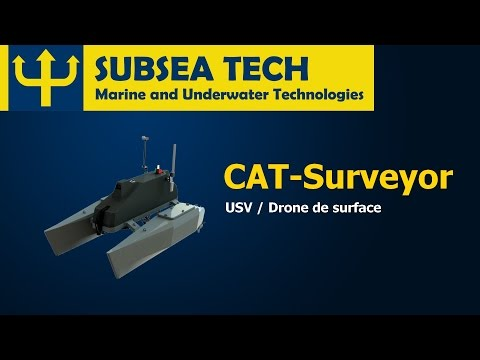 SubseaTech - CAT-Surveyor - USV / Drone de surface