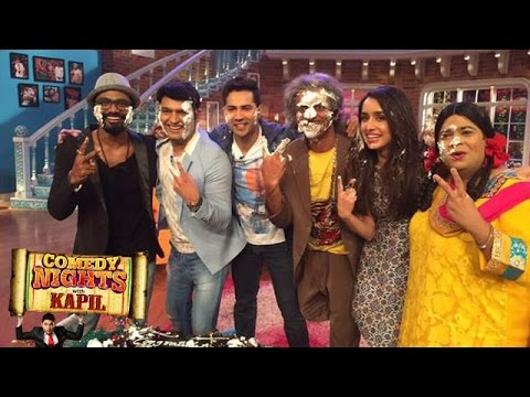Comedy Nights With Kapil | Varun Dhawan, Shraddha Kapoor Promote ABCD 2 | 31st May 2015 Episode
