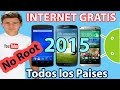 Tener internet Gratis en Cualquier Android-OS | 2015 | 3G y 4G