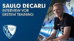 Saisonstart | Saulo DECARLI im ersten Interview