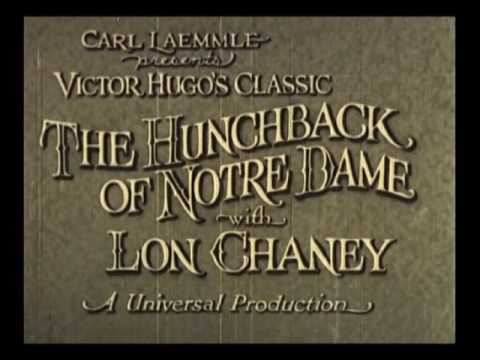 The Hunckback of Notre Dame with Lon Chaney - Excerpt (1923)