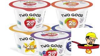 Two Good Greek Yogurt - (2G of Sugar)